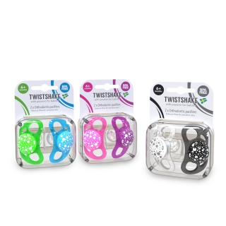 Multipack Pacifier NEON/PASTEL (6+m)