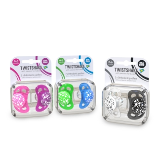 Multipack Pacifier NEON/PASTEL (0-6m)