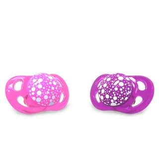 2x Pacifier Mini NEON (0-6m)
