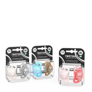 Multipack Pacifier (0-6m) PEARL