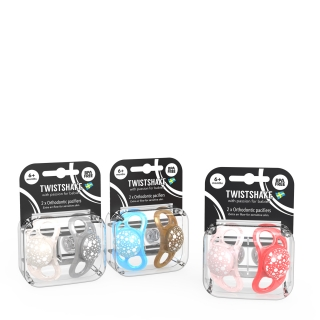 Multipack Pacifier (6+m) PEARL