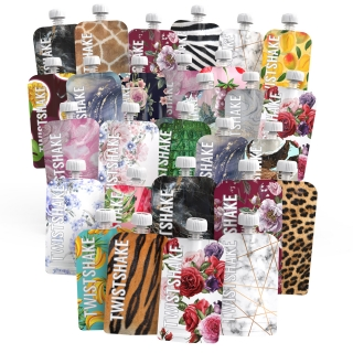 28X REFILLABLE SQUEEZE BAG