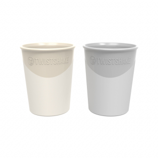 2 x BABYTASSE BEIGE / PEACH 170 ml, 6+ MONATE