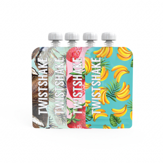4x Squeeze Bag 220ml Frukt ONLINE